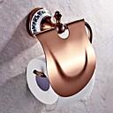 トイレットペーパーホルダー グリーン ウォールマウント 17.5*15cm(6.88*5.9inch) 真鍮 ネオクラシック