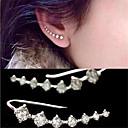 Sitne naušnice Kristal imitacija Diamond Kubični Zirconia Moda Personalized Elegantno Divan Kristal Zircon Kubični Zirconia Jewelry Obala