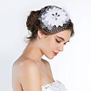 Ženy Hedvábí Přílba-Svatba Zvláštní příležitost francouzský závoj