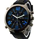 V6 Pánské Vojenské hodinky Náramkové hodinky Křemenný Japonské Quartz Silikon Kapela Černá