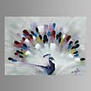 Zvíře / Fantazie / Rozmarné / Moderní / Pop Art Na plátně Jeden panel Připraveno k Pověste , Horizontální