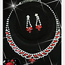 Slatko / Zabava - Žene - Ogrlica / Naušnica ( Posrebreno / Legure / Drago kamenje i kristali / Kubični cirkon )