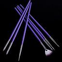 1set kynsien Tulosta kynä akryyli kynsien harjalla pakki taide asettaa UV-geelillä harjalla nail art (7kpl / sarja)