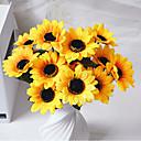 Polyester Suncokreti Umjetna Cvijeće