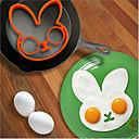 Kreslený králík Model smažená vejce zařízení