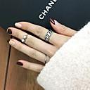 指輪 調整可能 パーティー / 日常 / カジュアル ジュエリー 合金 女性 関節リング 1セット,調整可 ゴールデン
