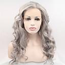 """18 """"-24"""", nezpracované brazilští panenské lidských plné krajky paruky šedé Glueless krajka přední šedé vlasy, paruky v zásobách"""