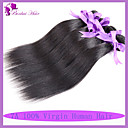 人間の髪編む インディアンヘア ストレート 6ヶ月 1個 ヘア織り