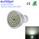 7W GU10 LED bodovky A50 48 SMD 2835 600 lm Chladná bílá Ozdobné AC 220-240 / AC 110-130 V 1 ks