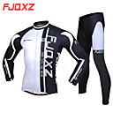 FJQXZ® Biciklistička majica s tajicama Muškarci Dugi rukav BiciklProzračnost / Ugrijati / Quick dry / Vjetronepropusnost / Ultraviolet