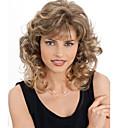 módní kudrnaté blond barva vlny vysoce kvalitních umělých vlasů paruky.