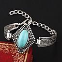 ブレスレット チャームブレスレット 人造真珠 ターコイズ 誕生石です. 結婚式 パーティー 日常 カジュアル ジュエリー ギフト ゴールデン,1個