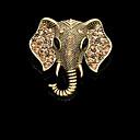 ファッションヴィンテージ象のブローチ
