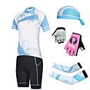 CHEJI® Biciklistička majica s kratkim hlačama Žene Kratki rukav BiciklProzračnost / Quick dry / Ultraviolet Resistant / Pad 3D /