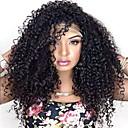 Žene čipke sprijeda vlasulja 10inch ~ boju 24inch Indija kose (# 1 # 1b # 2 # 4) duboko val kose