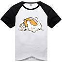 Inspirovaný Natsume Yuujinchou Natsume Takashi Anime Cosplay kostýmy Cosplay T-shirt Tisk Czarny Krátké rukávy Trička