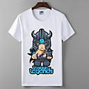 lol liga legendi barbarin skup serija Cosplay t-shirt junaci sindikata pamuk likra