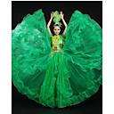 Cosplay Nošnje Princeza / Movie & TV Theme Costumes Festival/Praznik Halloween kostime Zelen Jednobojni HaljinaHalloween / Božić /