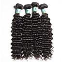 Lidské vlasy Vazby Brazilské vlasy Velké vlny 18 měsíců 4 kusy Vazby na vlasy