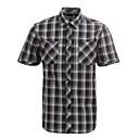JamesEarl Muškarci Kragna košulje Kratki rukav Shirt & Bluza Crna Fade - DA182029926