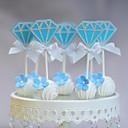 Figure za torte Non-personalizirane Smiješno & Nerado Kartica papira Godišnjica / Rođendan / Vjenčanje Luk Plav Plaža Teme / Klasični Tema