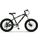 """7スピード20 """"X11"""" x4.0 """"脂肪タイヤスノーバイクOBK™脂肪bicicletaマウンテンバイクサスペンションアルミニウム合金フォーク"""