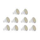 7W GU10 LED reflektori 18 SMD 5630 570 lm Toplo bijelo / Hladno bijelo AC 220-240 V 10 kom.