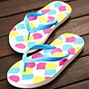 Ženske cipele-Japanke-Aktivnosti u prirodi / Ležerne prilike-Sintetika-Ravna potpetica-Cipele otvorenih prstiju / Papuče-Plava