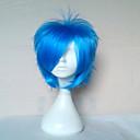 vrhunski blue Cosplay perika sintetičke kose perika čovjeka kratka ravna animirani perika strana perika 072a
