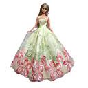 Princeza Haljine Za Barbie lutka Crna / Roza Haljine Za Djevojka je Doll igračkama
