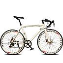 Cestovni bicikli Biciklizam 14 Brzina 26 inča/700CC 50mm Muškarci Ženski Uniseks Odrasla osoba Shimano TX30 Dvostruka disk kočnica Običan