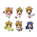 カードキャプターさくら Sakura Kinomodo PVC 5.5cm アニメのアクションフィギュア モデルのおもちゃ 人形玩具