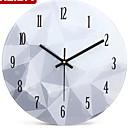 Kulatý Módní a moderní Nástěnné hodiny,Ostatní Kov 25*25*2.5
