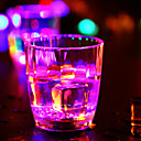 0,5 W Měnící barvy Baterie Senzor Noční světlo / LED doplňky k nápojům <5V V Umělá hmota