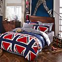 Najbolji prodaju zastava posteljina set visoke kvalitete krevet cover jedinstven dizajn krevetu plahta modni drap de lit posteljine 4pcs