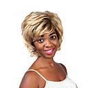 módní blond barva střední délka horní kvalitní syntetické paruky