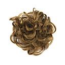 perika smeđe 6cm visoke temperature boje žica kose krug 2005