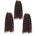 3pcs / puno 113g / kom 7a 100% djevičansko Brazilski ljudske kose plete snopove kose potke, kinky kovrčava, prirodna boja kose