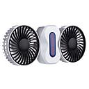 Nekoliko dvostruko punjenje mini ventilatora Ventilator mute prijenosni vanjski student usb mali ventilator desktop klima ventilator