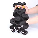 Brazilski djevica kosa 3 snopovi puno Brazilski tijelo val Brazilski ljudske kose plete 6a Brazilski djevica dlačica val