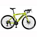 ロードバイク サイクリング 21スピード 26 inch/700CC 40ミリメートル 男性 / 婦人向け / ユニセックス SHIMANO TX30 ダブルディスクブレーキ 普通 モノコック 普通 スチール レッド / 黄色 / 白 / ブルー