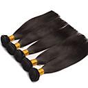 4個 ストレート 人間の髪織り ユーラシアンヘア 人間の髪織り ストレート