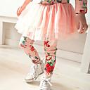 Djevojka je Proljeće / Jesen Ležerno/za svaki dan-Cvjetni print-Pamuk-Proljeće / Jesen-Ružičasta