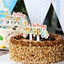 Kamado roštilj Strana Posuđe-50Piece / Set Oprema za tortu Tag Tvrda kartica papira rustikalni Tema Other Non-personalised Bijela
