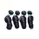 4pcs / puno 12-26 inča neprerađeni Brazilski Remy djevica kosa prirodno crna jaja rotor ljudske kose plete