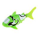 Robo riba morski pas stil elektronske riba igračke - zelena + bijela (2 x lr44)