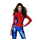 kostuums Superhelden Halloween Rood / Blauw Patchwork Textiel Binnenwerk Gympak/Onesie / Meer Accessoires