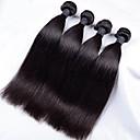 4 Pièces Droit (Straight) Tissages de cheveux humains Cheveux Indiens 350g 10''-30'' Extensions de cheveux humains