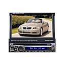 7 1DIN LCD touch screen digitale panel auto dvd-speler ondersteuning ipod.bluetooth.stereo radio.gps.touch scherm