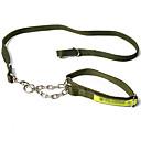 犬用品 リード 調整可能/引き込み式 純色 ブラック / グリーン ナイロン